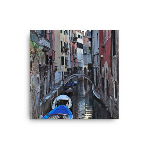 Venice Canal Canvas Photo