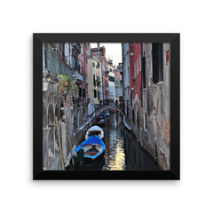 Venice Canal Framed Poster Photo - Susanne Ferrante - 4