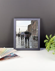 Walking in the Rain Framed Poster Photo - Susanne Ferrante - 3