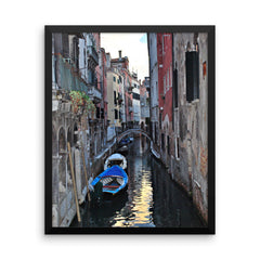 Venice Canal Framed Poster Photo - Susanne Ferrante - 2