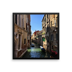 Venice Canal Framed Poster Photo - Susanne Ferrante - 8