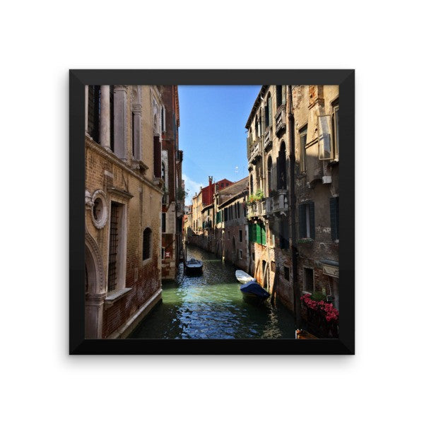 Venice Canal Framed Poster Photo - Susanne Ferrante - 5