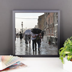 Walking in the Rain Framed Poster Photo - Susanne Ferrante - 9