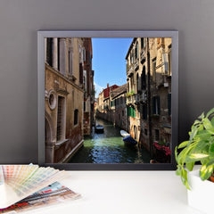 Venice Canal Framed Poster Photo - Susanne Ferrante - 9