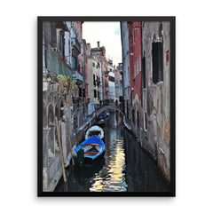 Venice Canal Framed Poster Photo - Susanne Ferrante - 12