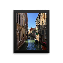 Venice Canal Framed Poster Photo - Susanne Ferrante - 1