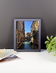 Venice Canal Framed Poster Photo - Susanne Ferrante - 3