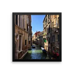 Venice Canal Framed Poster Photo - Susanne Ferrante - 6