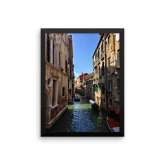 Venice Canal Framed Poster Photo - Susanne Ferrante - 11