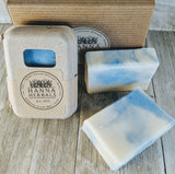 Blueberry Soap - 4 ounce bar - Hanna Herbals