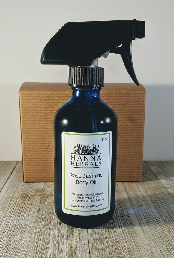 Rose Jasmine Body Oil - Hanna Herbals