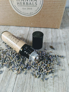 Lavender Frankincense Perfume Oil - Hanna Herbals