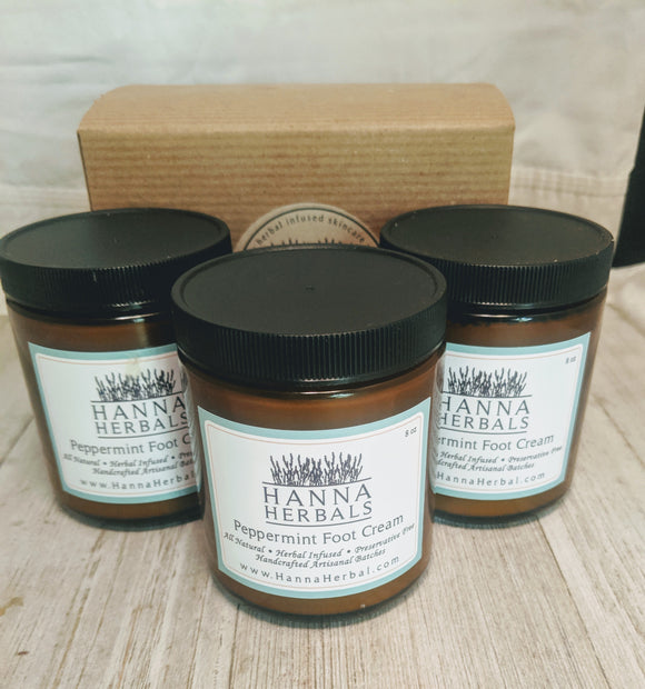 Peppermint Foot Cream - Hanna Herbals