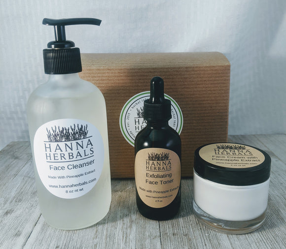 Exfoliating Skin Care Set - Hanna Herbals
