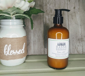 Rose Herbal Infused Lotion - Hanna Herbals