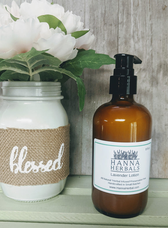 Lavender Lotion - Hanna Herbals