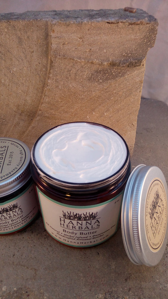 Frankincense and Myrhh Body Butter