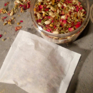 Rose, Chamomile and Jasmine Bath Herbs - Hanna Herbals