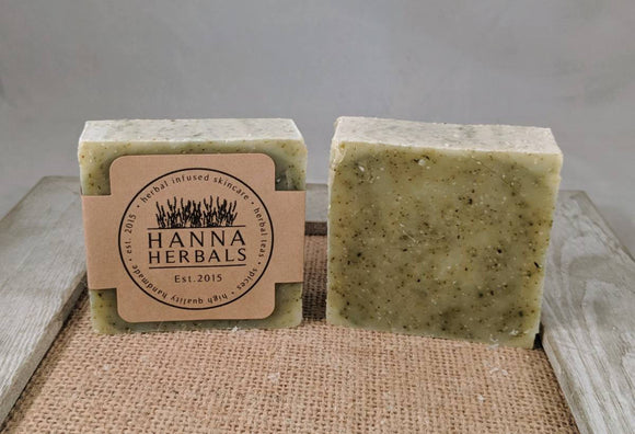 Comfrey and Nettle Facial Herbal Soap - Hanna Herbals