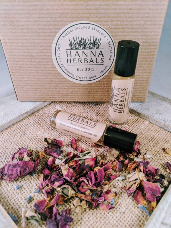 Jasmine Rose Roll On Perfume - Hanna Herbals