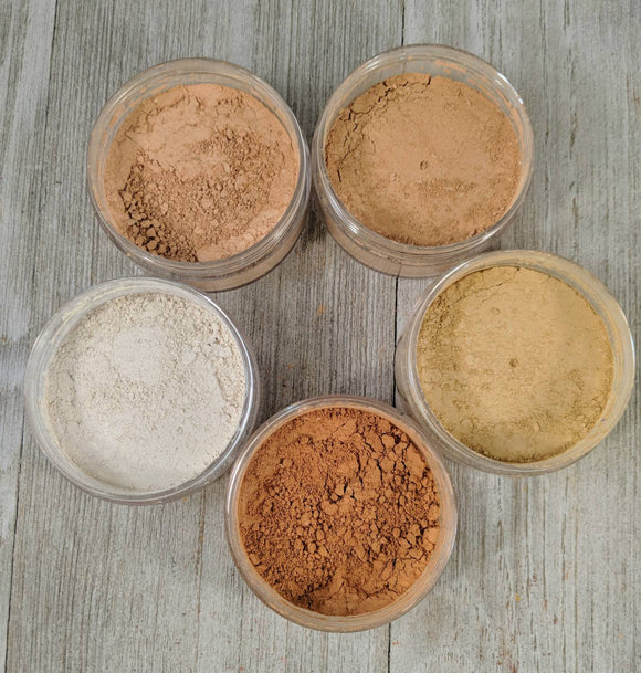 Mineral Makeup Sample Sizes - Hanna Herbals