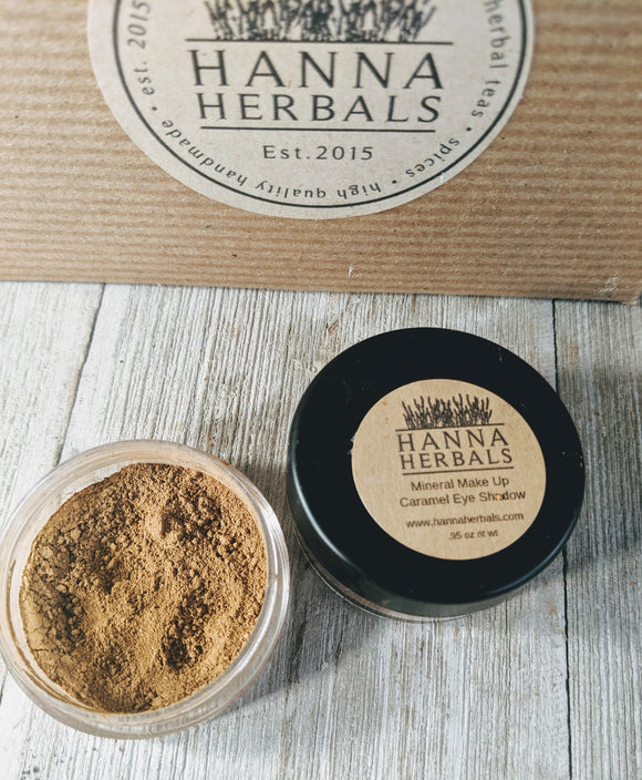 Caramel Eye Shadow - Hanna Herbals