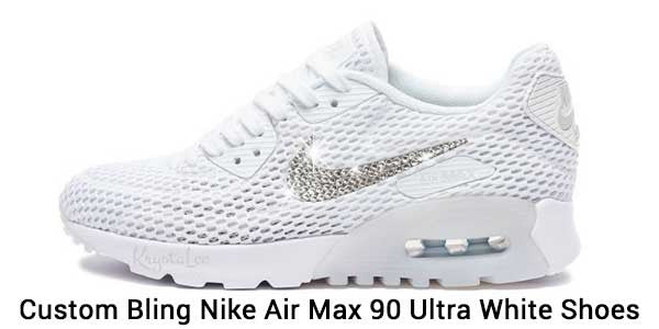 How custom bling Nike Air Max 90 sneakers can help you stand out ... 2826f7350