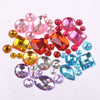 Rhinestones-Acrylic Shaped Flat Back