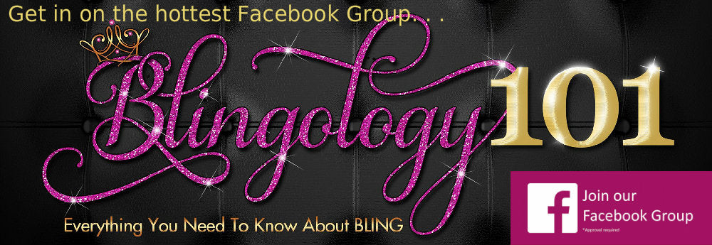 Exclusively from TheDecoKraft, Blingology101 is a popular Facebook group specifically  for those interested in DIY Rhinestone Art.