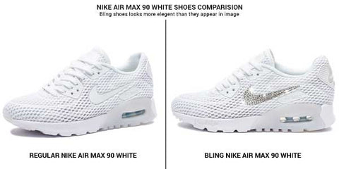 How custom bling Nike Air Max 90 sneakers can help you stand out ... 89266b300