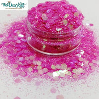 Chunky4 Mixed Chunky Glitter, Polyester Glitter for Tumblers Nail Art Bling Shoes - 1oz/30g