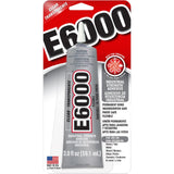 E6000 Clear Multipurpose Industrial Strength Adhesive - 2 oz./59.1ml