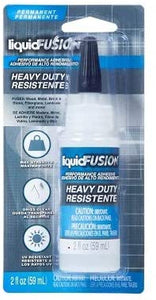 Liquid Fusion Adhesive 2 fl oz - Clear Adhesive, Bling Craft Permanent Adhesive