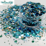 Chunky23 Mixed Chunky Glitter, Polyester Glitter for Tumblers Nail Art Bling Shoes - 1oz/30g