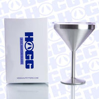 Stainless Steel Martini Tumbler 8 oz with Sliding Lid