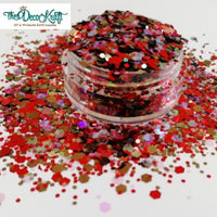 Chunky24 Mixed Chunky Glitter, Polyester Glitter for Tumblers Nail Art Bling Shoes - 1oz/30g