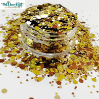Chunky12 Mixed Chunky Glitter, Polyester Glitter for Tumblers Nail Art Bling Shoes - 1oz/30g