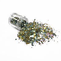 Chunky39 Chunky Polyester Mixed  Glitter for Tumblers Nail Art Bling Shoes - 1oz/30g