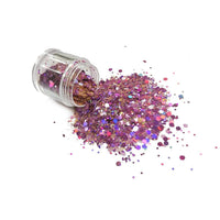 Chunky41 Chunky Polyester Mixed  Glitter for Tumblers Nail Art Bling Shoes - 1oz/30g