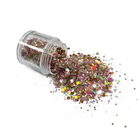 Chunky52 Chunky Polyester Mixed  Glitter for Tumblers Nail Art Bling Shoes - 1 ounce