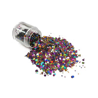 Chunky56 Chunky Polyester Mixed  Glitter for Tumblers Nail Art Bling Shoes - 1oz/30g
