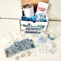 FREE SHIPPING - Winter Wonderland January Tumbler Bling Kit