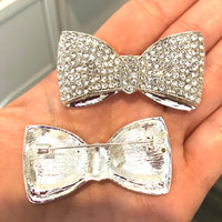 Clearance - Silver Bow Brooch