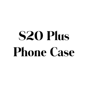 Samsung Galaxy S20 Plus Phone Case, Clear Hard Plastic Phone Case