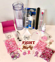 Breast Cancer Awareness, Pink Bling Kit