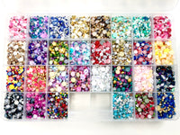 2-10mm Mixed Pearls & Rhinestone Sets 30K