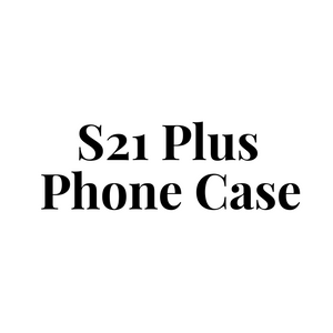Samsung Galaxy S21 Plus Phone Case, Clear Hard Plastic Phone Case