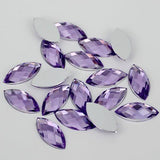 100 Piece 7x15mm LIGHT PURPLE Marquis Shape Acrylic Flatback Rhinestones (TDKPR1569) - TheDecoKraft