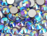 Light Purple AB Crystal Glass Rhinestones - SS30, 288 Pieces - 6mm Flatback, Round, Loose Bling - TheDecoKraft - 2