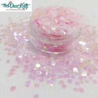 Ballet Slippers Chunky Polyester Mixed  Glitter for Tumblers Nail Art Bling Shoes - 1oz/30g